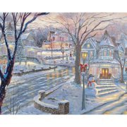 Cold Winters Night 1000 Piece Puzzle,  1,000 Piece Puzzles by Allied Products