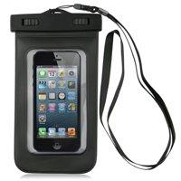 Importer520 PX8 Certified to 100 Feet Universal Waterproof Cover Case For HTC Amaze 4G Android Phone, Black (T-Mobile)