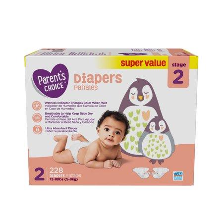 37794d3554866 parents choice diapers size 2 228 diapers walmart com .