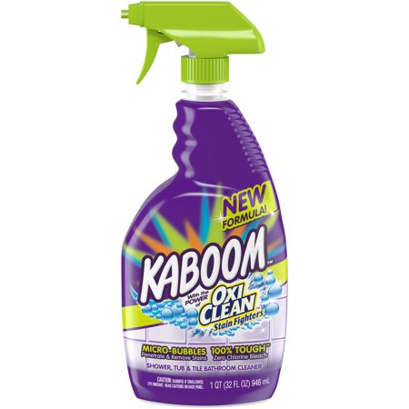 (2 pack) Kaboom™ OxiClean™ Stain Fighters Shower, Tub, & Tile Bathroom Cleaner 32 fl. oz.
