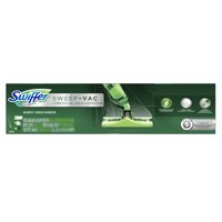 Swiffer Sweep + VAC Cordless Vacuum Kit (1 Rechargeable Vacuum Sweeper, 8 Dry Cloths, 1 Replaceable Filter, 1 Battery Charger)