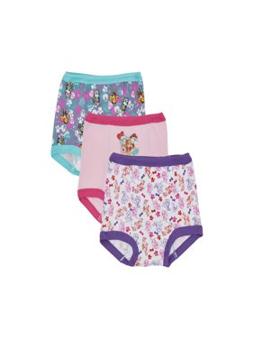 Paw Patrol Toddler Girls' Training Pants, 3 Pack