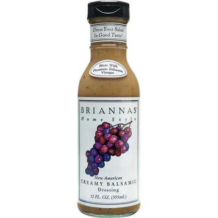 Creamy Balsamic Vinaigrette (Brianna's New American Creamy Balsamic Vinaigrette Dressing, 12 oz )