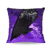 ad59685189e Mainstays holographic reversible sequins sparkle pillow