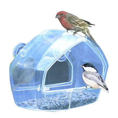 Perky Pet Clear Window Feeder ()