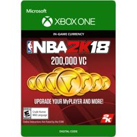 Xbox One NBA 2K18 200,000 VC (email delivery)