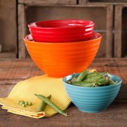 The Pioneer Woman Flea Market 3-Piece Ceramic Tableware Bowls