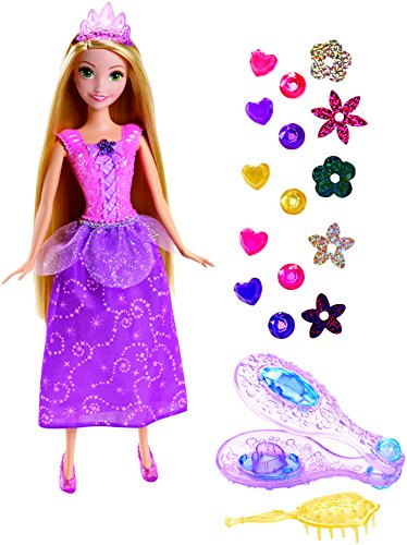 Disney Princess Gem Styler Rapunzel Doll - Rapunzel Hair Diy