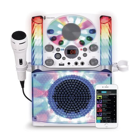 Singing Machine SML625BTW Bluetooth CD+G Karaoke