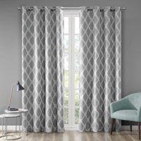 Home Essence Etro Printed Ikat Blackout Window Curtain Panel