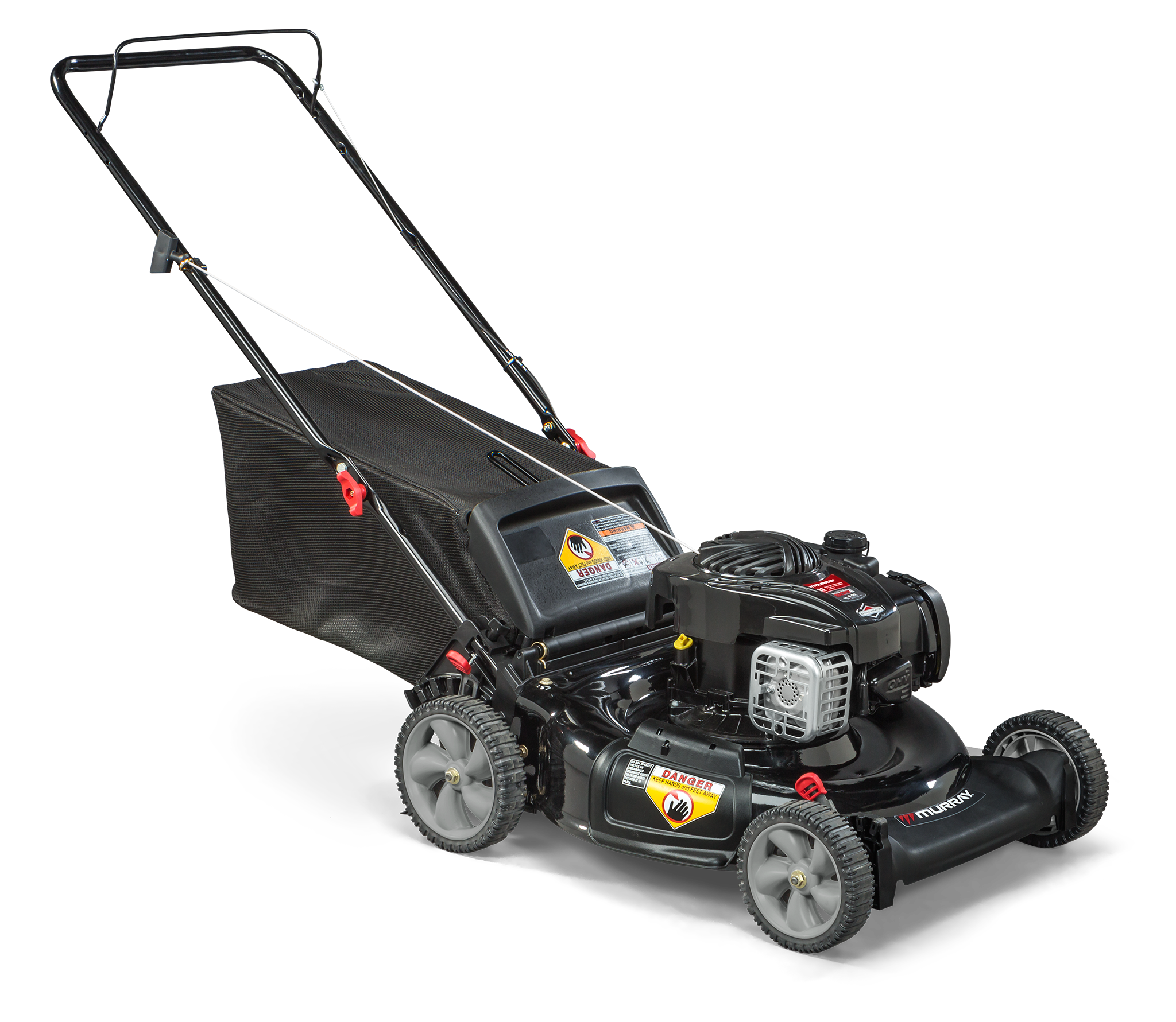 Murray 21 Gas Push Lawn Mower With Briggs And Stratton