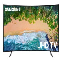 "SAMSUNG 55"" Class Curved 4K (2160P) Ultra HD Smart LED TV UN55NU7300FXZA (2018 model)"
