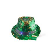 a0b59fe7347 Way To Celebrate St. Patrick s Day Light Up Fedora Hat