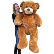 1f252643bbe Giant 5 Foot Teddy Bear Big Soft 60 Inch Plush Animal Honey Brown Color