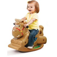 Step2 Patches the Rocking Horse, sturdy design to help prevent tipping