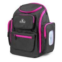 Primo Passi Backpack Diaper Bag, Grey