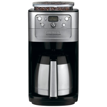 Burr Grind & Brew Thermal 12 Cup Automatic Coffeemaker Delay Brew Coffee Maker