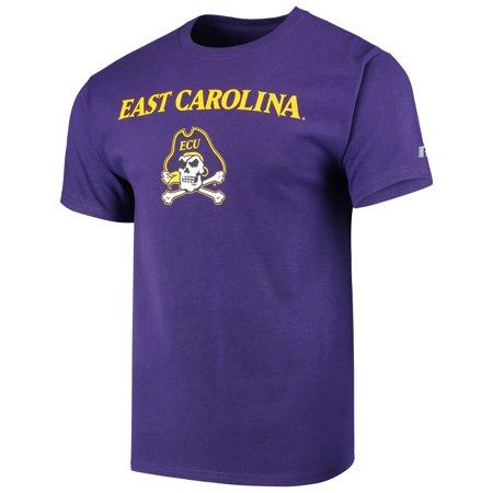 Men's Russell Purple ECU Pirates Core Print T-Shirt](Pirate Apparel)