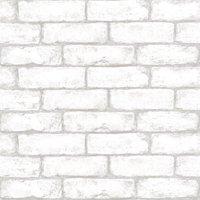 InHome Cambridge Brick Peel & Stick Wallpaper