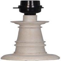 Mainstays Accent Lamp Base, White-Washed Wood Finish