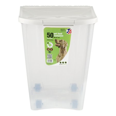 Van Ness Pet Food Storage Container, 50 Lb - Walmart.com