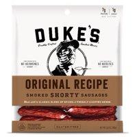 (3 pack) Duke's Original Recipe Smoked Shorty Sausages, 5 Oz