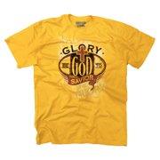 c95fbc90c8f8b Christian T Shirt Glory Be To God Savior Jesus Christ Faith Religious Tee  by Christian Strong