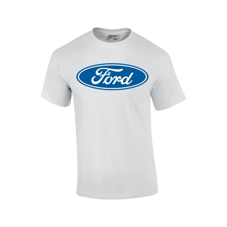 Ford Logo Cut Out - Ford T-Shirt Blue Ford Logo Oval Design