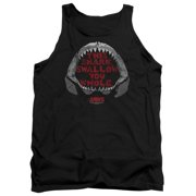 76b36428f65e7f Jaws 1975 Thriller Movie Steven Spielberg This Shark Adult Tank Top Shirt
