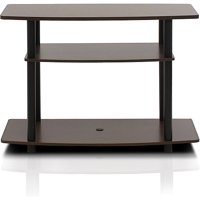 "Furinno 13192 Turn-N-Tube No Tools 3-Tier TV Stands for 32"" TV"