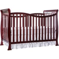 Dream On Me Violet 7-in-1 Convertible Crib Cherry