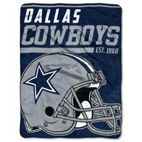 """NFL Dallas Cowboys """"40-Yard Dash"""" 46""""x 60"""" Micro Raschel Throw"""