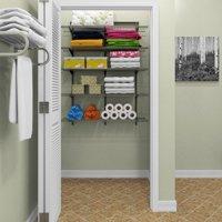 ClosetMaid ShelfTrack 4 Ft. Wire Shelf Kit