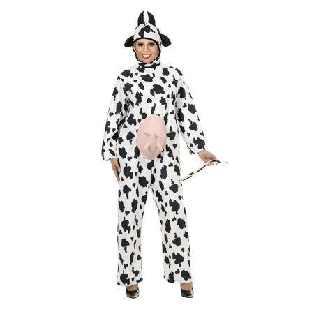 Halloween Cow Abunga Adult Costume - Cow Costume Adults