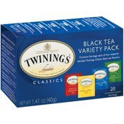 (4 Boxes) Twinings Of London Variety Boxes Black Tea Bags, 20 Ct