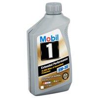 Mobil 1 5W-30 Extended Performance Full Synthetic Motor Oil, 1 qt.