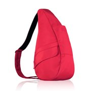 f8fac563eb01 Small Microfiber Healthy Back Bag - Red Small Microfiber Healthy Back Bag-  Red