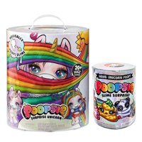 Poopsie Surprise Unicorn Magically Poops Slime - Includes 20+ Magic Surprises, Unicorn Doll (Rainbow Brightstar or Oopsie Starlight) and Bonus Slime Refill