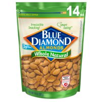 Blue Diamond Almonds Whole Natural Almonds, 14 Oz.