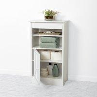 Zenna Home Linen Stand, White