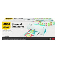 Scotch Craft Thermal Laminator, plus 2 letter Size pouches