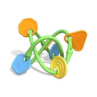 Green Toys Twist Teether Toy, Multi-Colored
