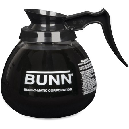 Bunn Coffee Decanter - BUNN, BUN424000101, 12-Cup Pour-O-Matic Decanter, 1 Each, Clear