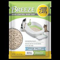 Purina Tidy Cats BREEZE Pellets Refill Cat Litter, 7-lb