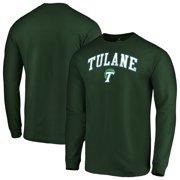75dc07dfbb154 Tulane Green Wave Fanatics Branded Campus Long Sleeve T-Shirt - Green