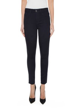 Jordache Women's Plus Size Super Soft Skinny Ankle Jean