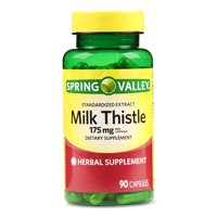 Spring Valley Milk Thistle Extract Capsules, 175 Mg, 90 Ct