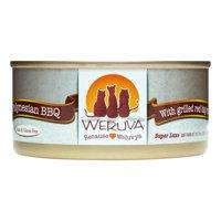 Weruva Polynesian BBQ Grilled Red Big Eye Tuna Wet Cat Food, 5.5 Oz., Pack of 24