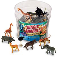 Jungle Animals Set Of 60