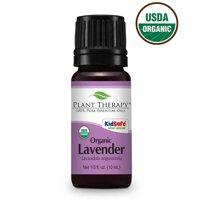 Plant Therapy Organic Lavender Essential Oil 10 mL (1/3 fl. oz.) 100% Pure, Undiluted, Therapeutic Grade